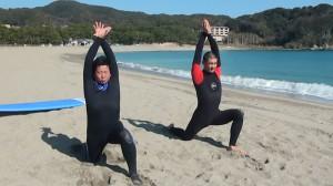 堀直也の伊豆サーフィン合宿(50才から始めるロングボード、1泊2日サーフィンスクール)