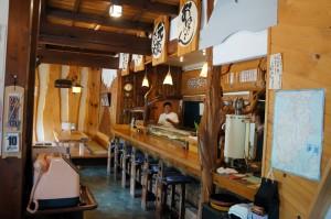 南伊豆の地魚グルメ 妻良の「びゃく」 寿司と磯めんが絶品