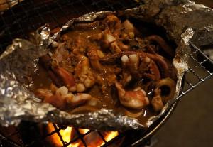 弓ヶ浜の夏の味、石廊沖のスルメイカの食べ方