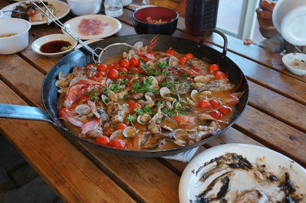 伊豆の弓ヶ浜で金目鯛(地キンメ)料理の研究会&試食会