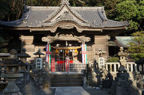 南伊豆、弓ヶ浜周辺の古代遺跡を巡る旅3(白浜神社遺跡)