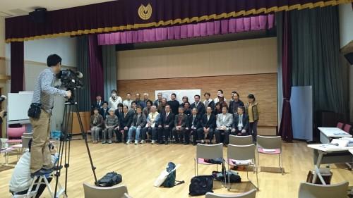 南伊豆ワークショップ最終回では全員で記念撮影。
