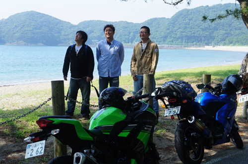 伊豆半島最南端の弓ヶ浜へバイクツーリング