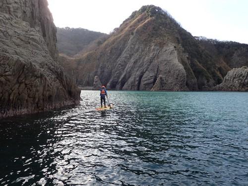 200万年前伊豆半島が海底火山だったころの風景が続く