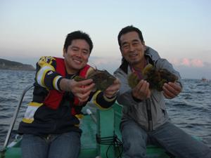 伊豆弓ヶ浜、カワハギ釣り