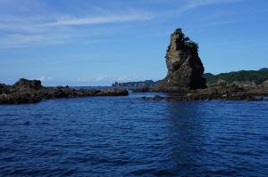 弓ヶ浜の漁船ツアー(伊豆半島ジオパーク事業)