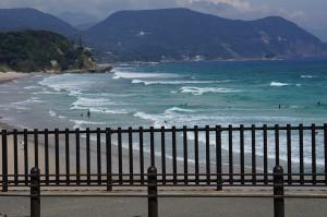 伊豆の白浜でサーフィン&ショッピング(白浜マリーナにて)