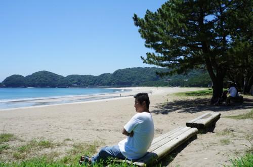 下田から車20分、弓ヶ浜前のコテージ