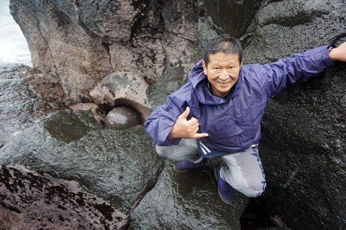 城ヶ崎パワースポット巡りのジオツアーに参加して