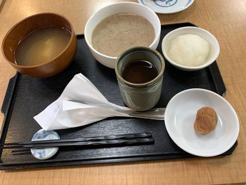 8日目のランチと夕食は重湯、うまい!!!