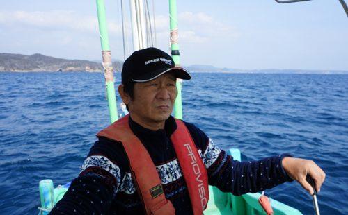 コテージオーナーは遊漁船たけすみ丸の船長です